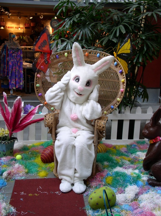 The big bunny himself will be on hand at Lahaina Cannery Mall. Photo Courtesy Lahaina Cannery Mall.