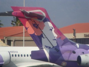 Hawaiian Airlines to add two seasonal flights between Maui and California for the summer.  File photo by Wendy Osher.