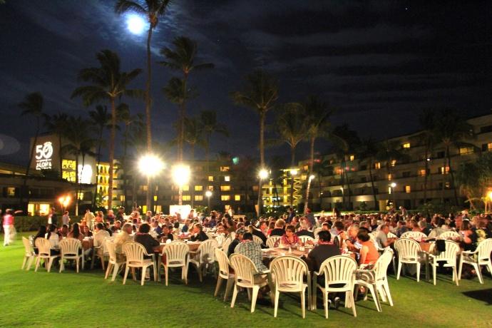 Sheraton Maui 50th Anniversary Lu'au.