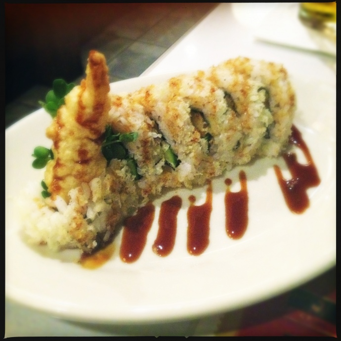 The Shrimp Tempura roll was having an off day. Photo by Vanessa Wolf.