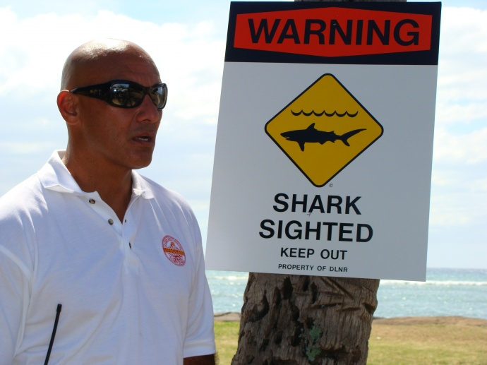 Ocean Safety Chief of Operations Archie Kalepa. Photo by Wendy Osher.