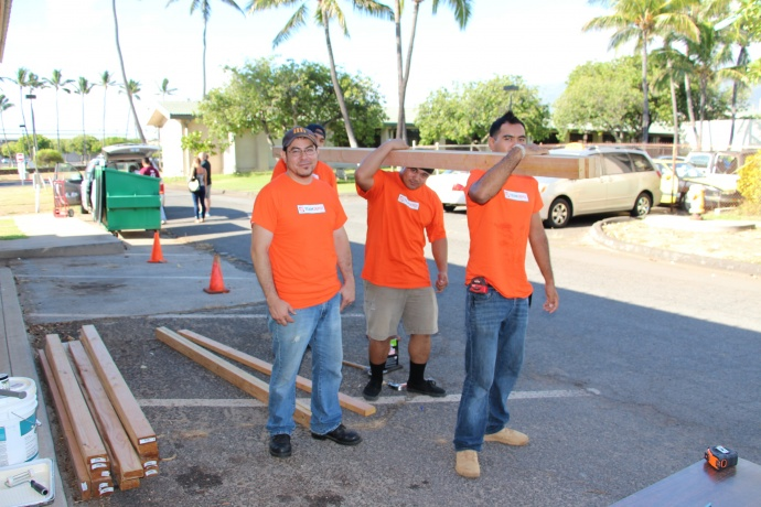 Home Depot Partners With Uhmc To Support Veterans Maui Now Hawaii News