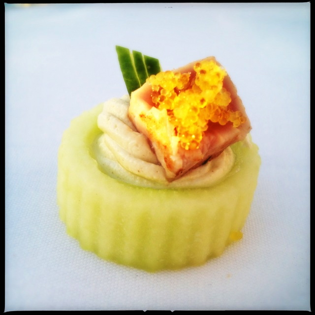A canape served at a previous Makena event. Photo by Vanessa Wolf