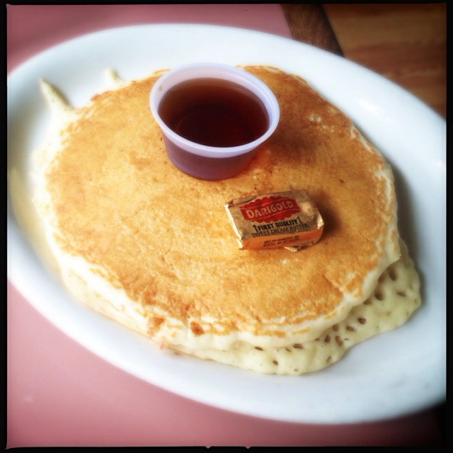 The Pancakes aren't cheap, but they're good pancakes if that's what you're into. Photo by Vanessa Wolf