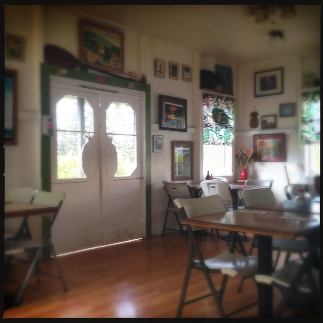 An interior view of the restaurant. Photo by Vanessa Wolf