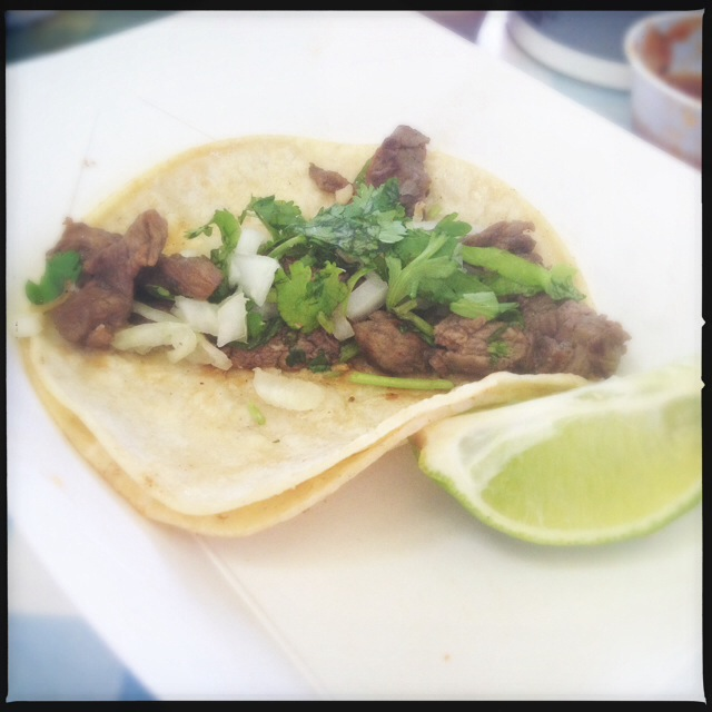 The Steak Taco. Photo by Vanessa Wolf