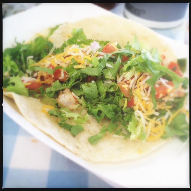 The Shrimp Taco failed to impress. Photo by Vanessa Wolf