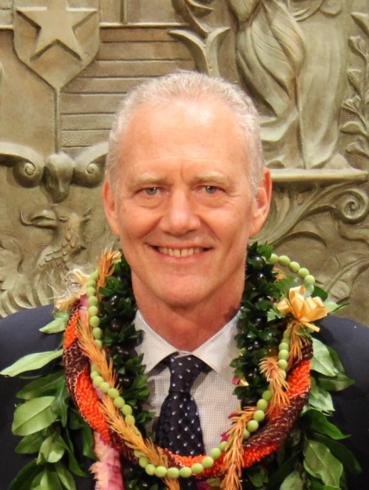 Judge Michael D. Wilson. Photo courtesy Office of the Governor, State of Hawaiʻi.