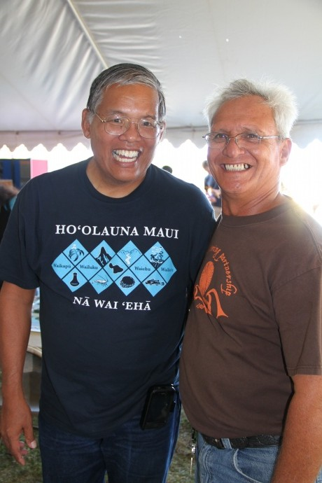 Skippy Hau, Aquatic Biologist, DLNR is among the speakers scheduled to attend the 6th Annual Hāna Limu Festival. Photo credit: Manuel Mejia.