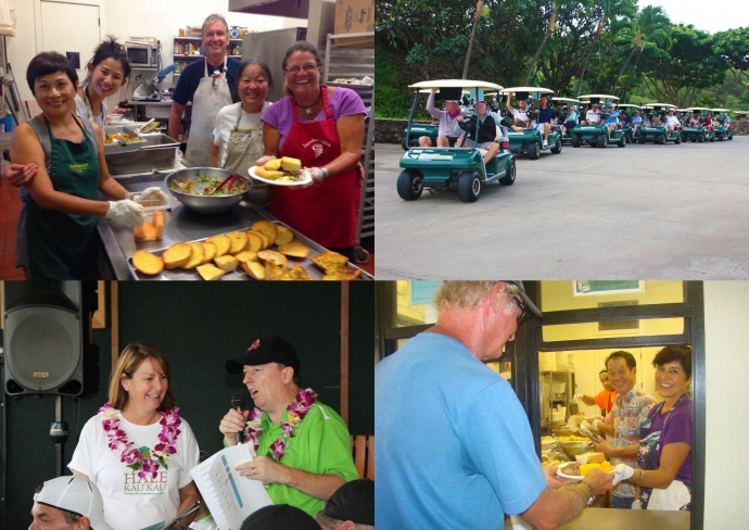 Hale Kau Kau Golf Benefit fundraiser. Courtesy photos.