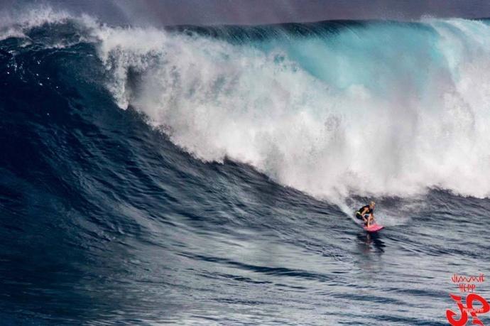 "Pe'ahi ""Jaws"" on Tuesday December 9, 2014 / Image: Jimmie Hepp"