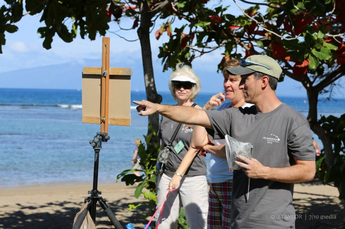 Photo courtesy Maui Plein Air Painting Invitational.