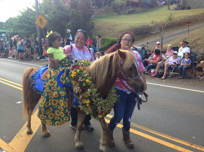 50th Annual Makawao Paniolo Fourth of July Parade. Photo: Debra Lordan