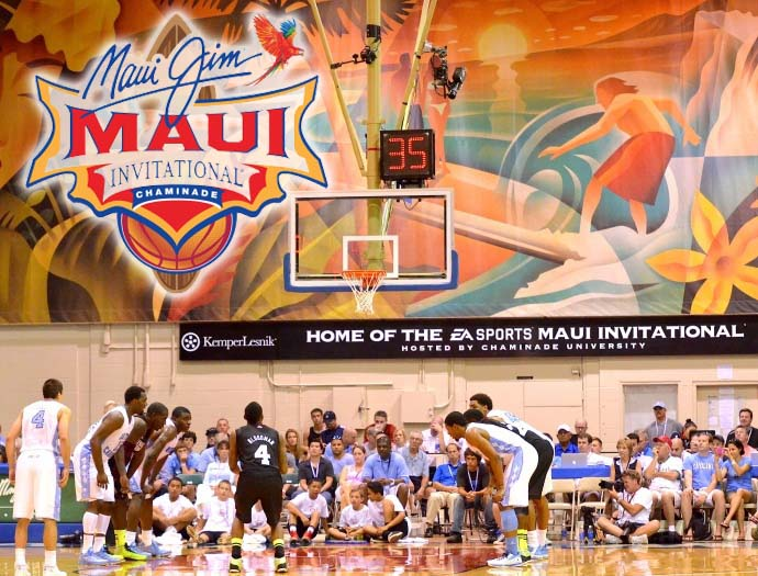 Maui Jim Maui Invitational. Background file photo by Rodney S. Yap.