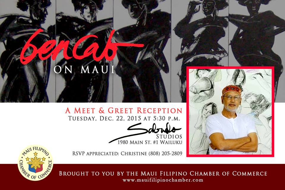 Philippine National Artist Bencab Visits Maui Maui Now Hawaii News