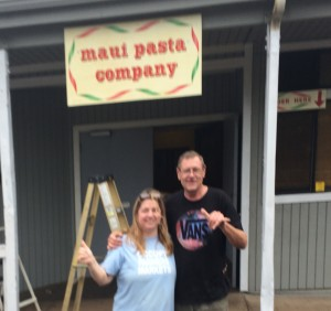 Patricia and Ron Inman outside their business. Photo courtesy of Patricia Inman.