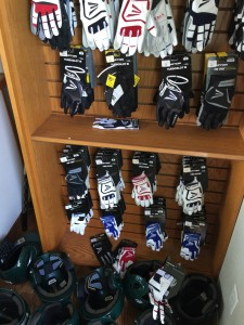 Gloves damaged and some stolen at Hitter's Paradise. Owners are seeking information leading to the arrest of suspects involved.