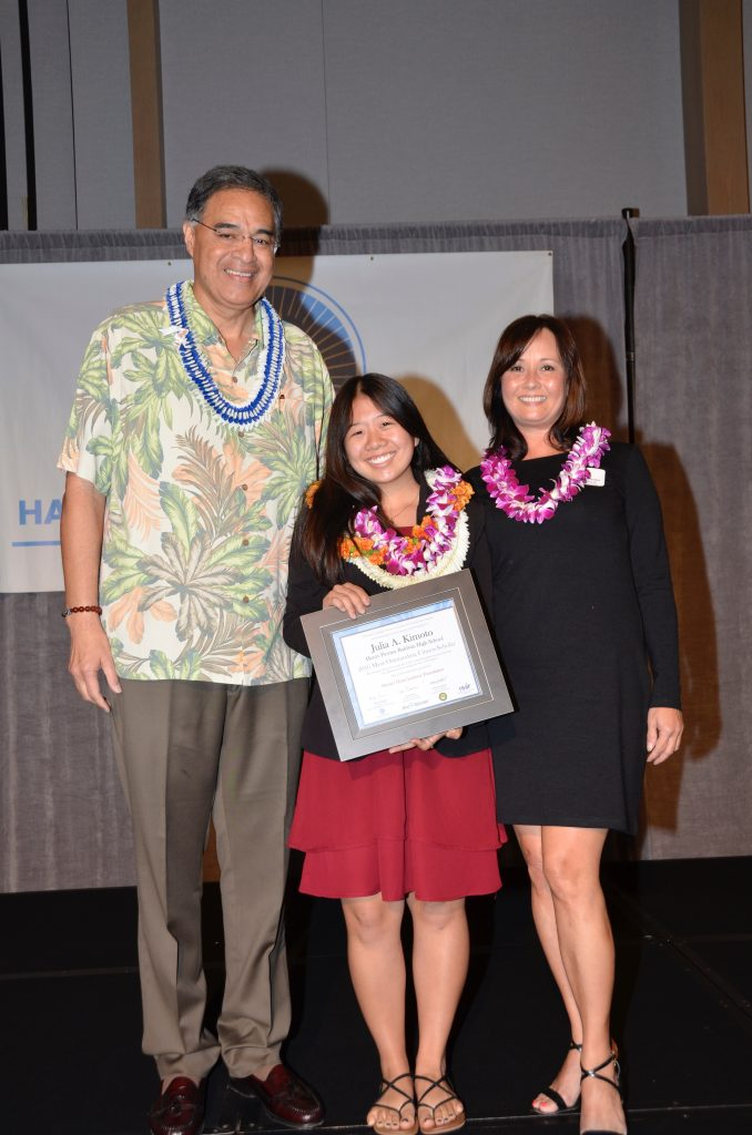 Most Outstanding Scholar Julia Kimoto. Courtesy photo.