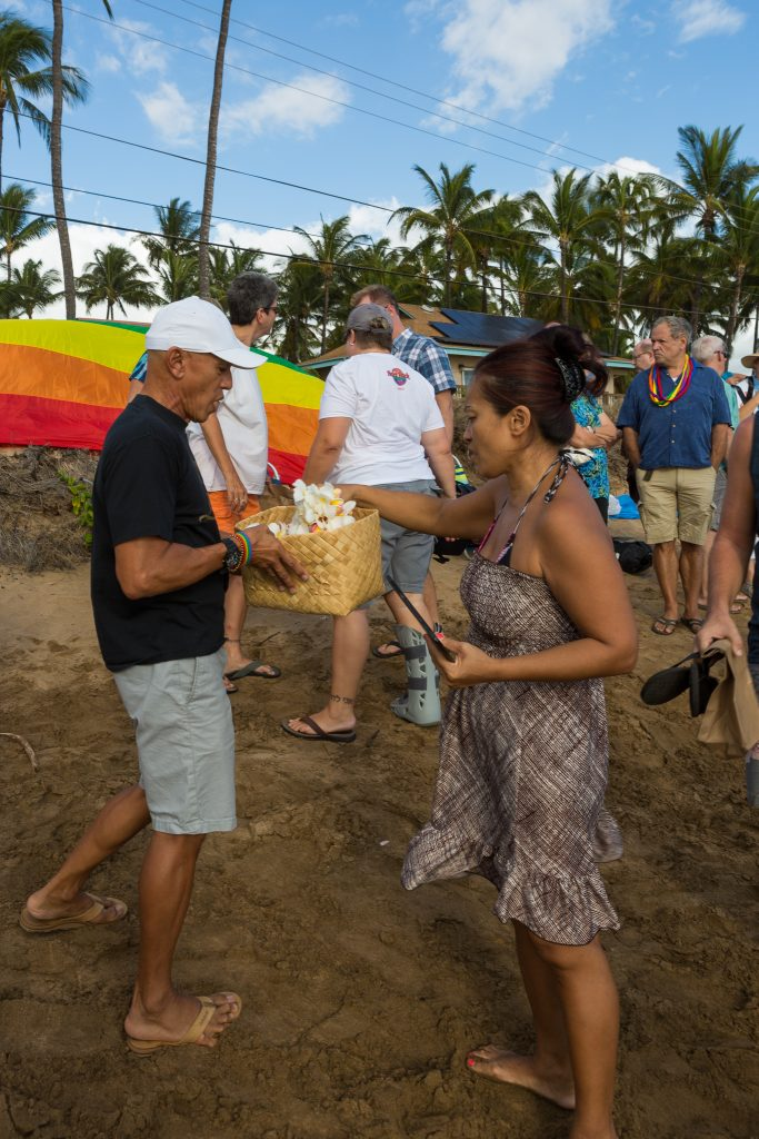 Orlando vigil on Maui (6.13.16) Photo credit: Llevellyn Lightsey.