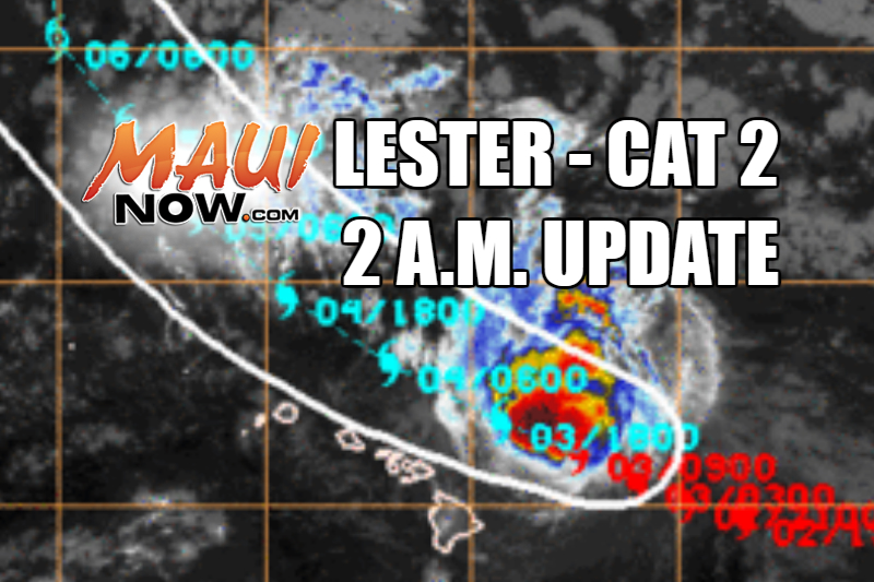 Lester. 2 a.m. on 9.3.16. Image credit: NOAA/NWS/CPHC