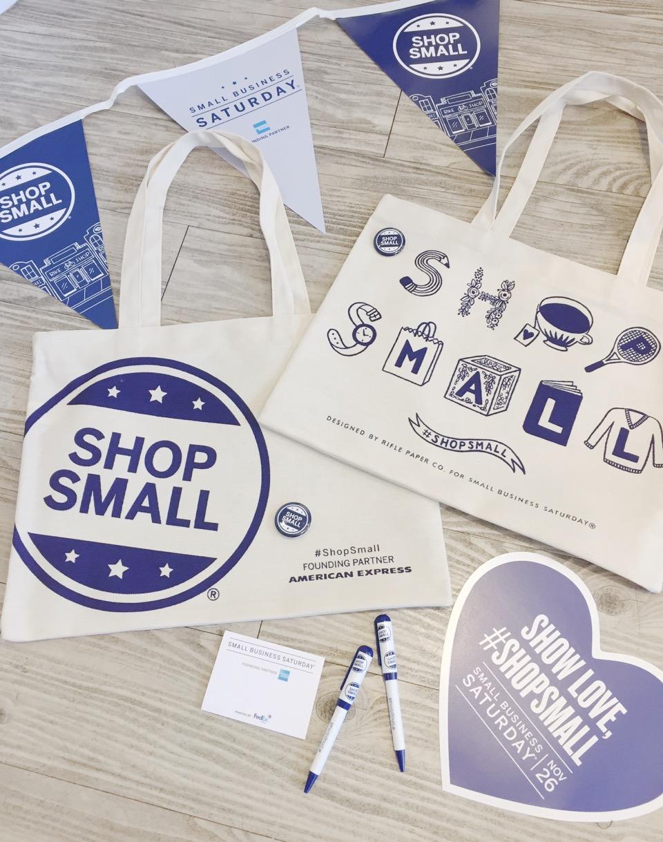 Shop Small Saturday happens Nov. 26, 2016.