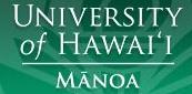 Image Courtesy University of Hawaii