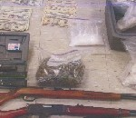 File photo of items seized in 2009 Maui drug bust.