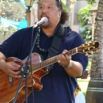 Willie K. gives the crowd a taste of his wide range of music styles including Kiho'alu, traditional Hawaiian, country and opera.