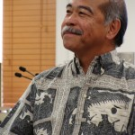 Maui County Budget Director Fred Pablo
