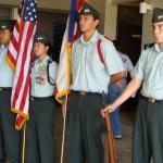 Drill Team, H.P. Baldwin High School JROTC