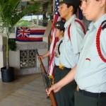 Drill Team, H.P. Baldwin High School JROTC.