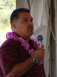State Transportation Director Brennon Morioka said the completed bypass will provide the capacity to service West Maui well into the future.  Photo by Wendy Osher.