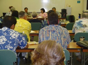 Members of the Water Resource Commission held several meetings on Maui last year in which it was decided to designate Na Wai 'Eha as a Surface Water Management Area.  Photo by Wendy OSHER © 2009