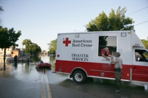 The Red Cross Disaster Response truck seen here is similar to the one stolen from the Maui Red Cross last week. Photo by: Talia Frenkel/American Red Cross.