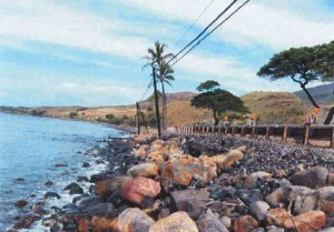 Photo of Olowalu Shoreline courtesy:  Munekiyo & Hiraga, Inc. 2009