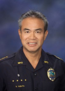 Maui Police Chief Gary Yabuta.  Photo Courtesy: County of Maui.