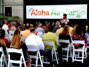 Aloha Air Cargo Kahului Terminal.  File Photo by Wendy Osher.