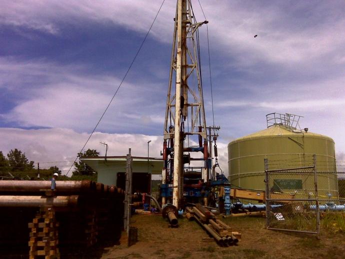 Kualapuu Well. Photo courtesy County of Maui.