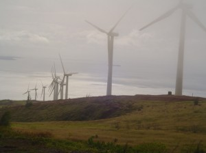 File image of the Kaheawa Wind Farm on Maui. Photo by Wendy Osher.