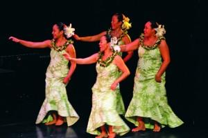 Ku Mai Ka Hula competion comes to the MACC. Photo by Richard Marks