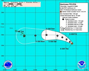 Image Courtesy NOAA, The National Hurricane Center and The National Weather Service.