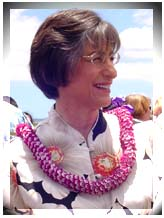 Governor Linda Lingle.  File photo by Wendy Osher.