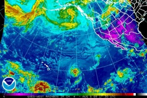 (Click image to enlarge.  Rainbow Satellite imagery courtesy The National Hurricane Center an NOAA)