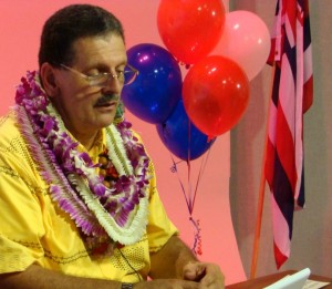 Councilman Mike Victorino, Chair of the County's Water Resources Committee proposes the use of Maui's Hamakuapoko Wells during times of drought. File photo by Wendy Osher.