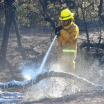 Maalaea Blaze Extinguished, Burns 5 Acres, Phone Service Restored