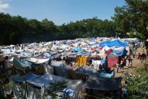 Haiti Earthquake, catholic camp for 3000 Haitians in need of medical attention.  Photo Courtesy: IFRC / Eric Quintero.