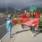 File Photo Maui Peace & Justice March courtesy: AAHFM.