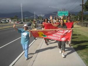 File Photo Maui Peace & Justice March courtesy: AAHFM.