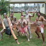 Hawaiian Immersion Students Treated to Aboriginal Dance