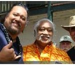 Willie K, Bradda Poki, Keli'i Tau'a. Photo by Wendy Osher.